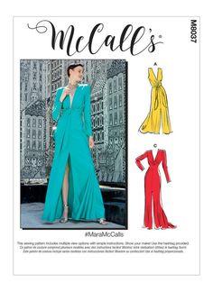 Vogue V9294 SEWING PATTERN Vintage 1930/'s Fitted Dress Neck Line Variations 6-22