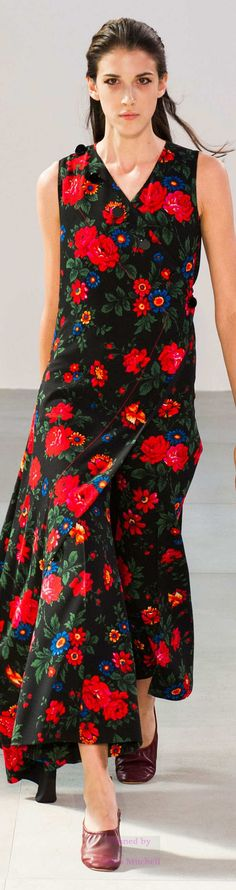 Céline Collection Spring 2015 Ready to Wear - pin courtesy of James Mitchell