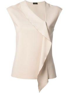 Diy Fashion, Fashion Dresses, Womens Fashion, Fashion Design, Blouse Styles, Blouse Designs, Sewing Blouses, Western Tops, Ruffle Shirt