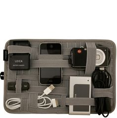 $22 Grid It for camera case!  Perfect to keep track of batteries, cords, chargers, etc when traveling