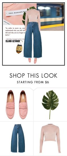 """""""idk"""" by dancingwithyou on Polyvore featuring H&M, Marques'Almeida, River Island and islandgetaway"""