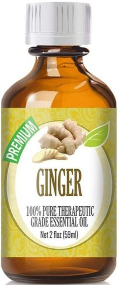 100% Pure Therapeutic Grade Ginger Essential OilComes in an amber glass essential oil bottle. European Dropper Cap included. Ginger is an herb used primarily fo