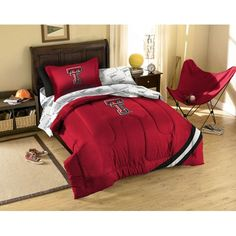 Texas Tech Red Raiders NCAA Bed in a Bag (Twin)