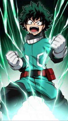 Boku no Hero Academia deku Boku No Hero Academia, My Hero Academia Memes, Hero Academia Characters, My Hero Academia Manga, Anime Characters, Manga Anime, Comic Manga, Deku Cosplay, Hero Wallpaper