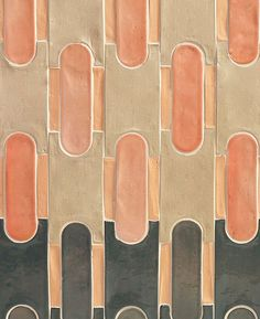 Venturing Inside the Pink Closet by Cristina Celestino Motifs Textiles, Textile Patterns, Print Patterns, Geometric Patterns, Floor Patterns, Geometric Tiles, Deco Design, Tile Design, Pattern Design