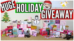 HUGE HOLIDAY GIVEAWAY WITH NIKKI PHILLIPPI! | 4 WINNERS!