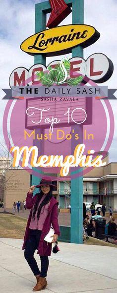 Top Ten Things to Do in Memphis, TN #MemphisInMay