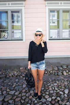Outfit With The Panama Hat