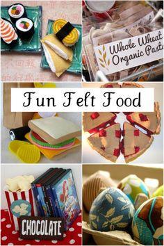 Fun felt food