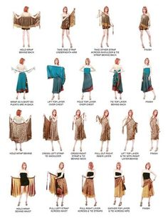 Instructions on how to wear your MAGIC WRAP! - See this image on Photobucket.