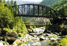 Pulga Bridges, Feather River Canyon