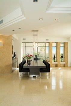 Dining room - Modern - Dining Room - Other Metro - Michal Yiftah Rotem, MYR Architecture Simple Dining Table, Dining Room Design, Dining Rooms, Dining Area, Modern Interior Design, Living Spaces, House Design, Home Decor, Decorating Ideas