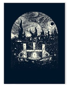 Past Life Portals (Limited Edition of 40) – James R. Eads Illustration