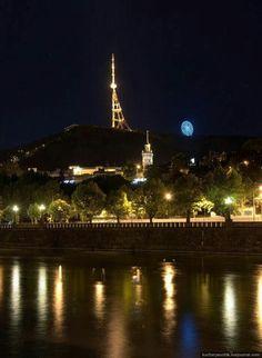 Tbilisi at night. Georgia