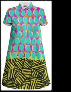 Shop NY1513 Mini Shirt Dress by Jennifer Sanchez | Print All Over Me