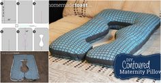 How to Make Contoured Maternity Pillow Step by Step Instructions