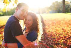 High School Sweethearts Engagement photos Simple Splendor Photography Kansas Fall Autumn KU