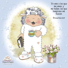 imagenes de ovejitas & ovejitas - Buscar con Google Bible Verse Art, Bible Scriptures, Biblia Online, Prayer For The Day, Positive Phrases, Bible Notes, Spiritual Messages, God Loves You, My Lord