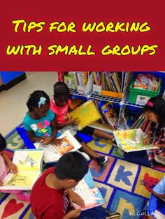 Great tips for working with small groups. I especially appreciate the tips at the end of the post and the idea for the PowerPoint rotation.