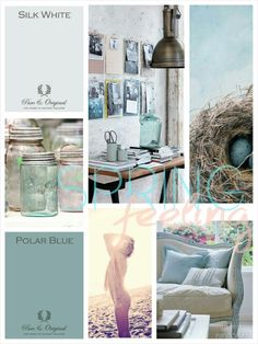 MOODboard | Spring feeling. Inspired BY COLOR #ankemosselman. Pure & Original colors. Cred. Anke Mosselman