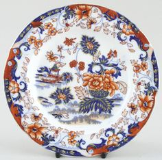 Minton Amherst Japan color  c1835