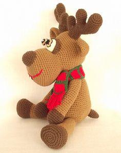 Amigurumi Deer Crochet Pattern Crochet Deer by LovelyBabyGift