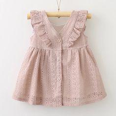 Aliyah Kleid - Baby Names Baby Girl Party Dresses, Little Girl Dresses, Girls Dresses, Casual Dresses, Frocks For Girls, Kids Frocks, Baby Girl Fashion, Kids Fashion, Baby Dress Design