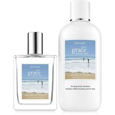 Philosophy Two-Piece Pure Grace Summer Surf Set found on Polyvore featuring beauty products, fragrance, no color, floral fragrances, philosophy fragrance and philosophy perfume