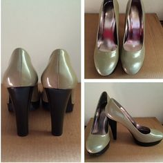 Calvin Klein pump Feature a thick heel for extreme comfort...never worn. Calvin Klein Shoes