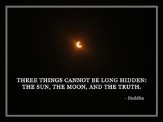 Freebie | Printable Eclipse Poster | Quote By Buddha [Photo and poster design by Creativity Prompt]