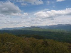 View From Look Rock, Great Smoky Mountains National Park 5/3/13
