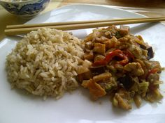 Tahini lilek s rýží