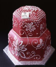 Diamond Fruitcake $1.65 million  The chef took about 6 months to design the cake and an entire month to finish it and have it ready to be sold. 223 small diamonds are located throughout the exterior of the cake. Except for the diamonds, the rest of the cake is fully edible.     OMG!