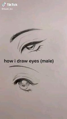 Eye Drawing Tutorials, Art Tutorials, Drawing Hair Tutorial, Manga Tutorial, Eye Tutorial, Drawing Techniques, Art Drawings Sketches Simple, Pencil Art Drawings, How To Shade Drawings
