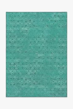 Bring an added layer of global refinement to your home decor with our weathered tribal-geometric Gabbeh Teal Blue rug, featuring a geometric motif in blended jewel tones of teal blue and pale blue green.All rug sets are made to order (please allow 2-3 weeks for delivery). Each set includes a latex-free nonslip rug pad