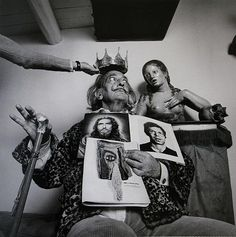 burnedshoes:  © Alberto Schommer, 1973, Portrait of Salvador Dalí Schommer's photographic work reflects the history of Spain, and the décor, clothes, make-up and objects play an important role in his portraits, as he believes that photography provides a true record of the times. He was born in Vitoria (Spain) in 1928, the son of a German photographer settled there, and moved to Madrid in 1966, where he quickly became famous.
