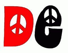dibujos letras dia de la paz