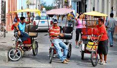 Lo que pasa en la calle: BICITAXIS Cuba, Street, Step By Step, Kobe