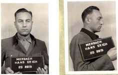 Hans Merbach, SS - Obersturmführer ((Lieutenant). Adjutant and Schutzhaftlagerführer in Buchenwald, comander of the canine unit in Auschwitz...Dogs were trained to attack the slave labors and people coming to death camp. The SS found it enjoyable to use the dogs to kill. Such evil men