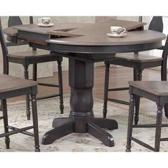 You'll love the Round Counter Height Pub Table at Wayfair - Great Deals on all Furniture products with Free Shipping on most stuff, even the big stuff.
