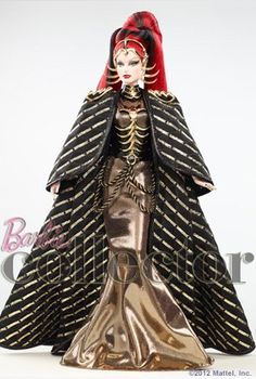 Queen of the Constellations #Barbie due out in June 2013 - 3rd in the Galaxy Line - Love the Black & Gold! #WishList