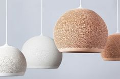 SpongeUp Terracota Hand Made Pendant Lights By POTT | Made In Spain