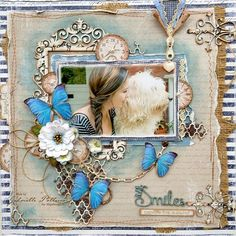 Such a Pretty Mess: Saying Farewell ~ All Smiles {Maja Design & Dusty Attic}