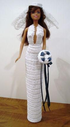 BRIDE DOLL - BARBIE(046) #DollClothingAccessories