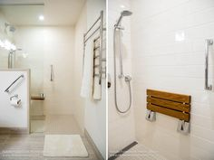 Seniors Bathroom Renovation - Before + AfterI can honestly say that this seniors bathroom renovation was one of the most successful and smooth projects that NFID has been apart of.  Here is why:  The design planning was an enjoyable challenge! - We needed to renovate a bathroom to…