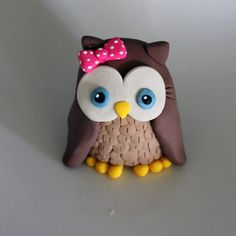 Custom Owl Cake Topper for Birthday or Baby Shower by carlyace, $12.95