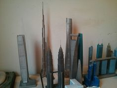 Welcoming the Shanghai Tower to my replica building collection.