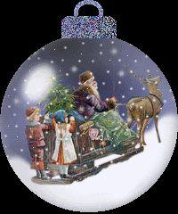 ♡ GIF Christmas Scene
