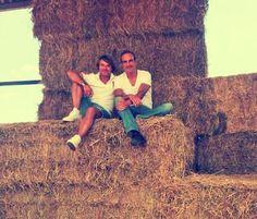Un poquito de nuestro verano! David Panareda y Benito de Hotel Cochambre. #MomentosCanVila #Montseny