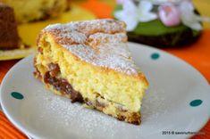 Cheesecake zebră sau rețeta de pască fără aluat (în două culori)   Savori Urbane Easter Pie, Vegan Cake, Cata, Food Cakes, Frozen Yogurt, Cheesecakes, Cornbread, Cake Recipes, French Toast